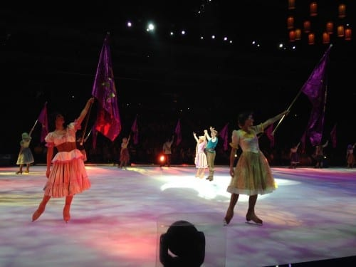 Rapunzel at Disney on Ice South FL