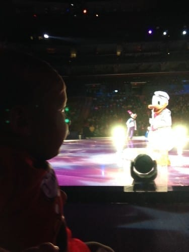 Donald Duck and Goofy at Disney on Ice South FL