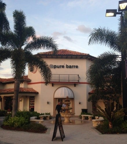 Pure Barre classes Boca Raton