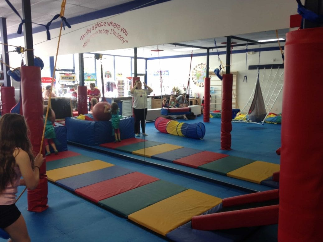 this kids u0027 gym really rocks modern boca mom