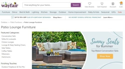 Wayfair.com Mention 2