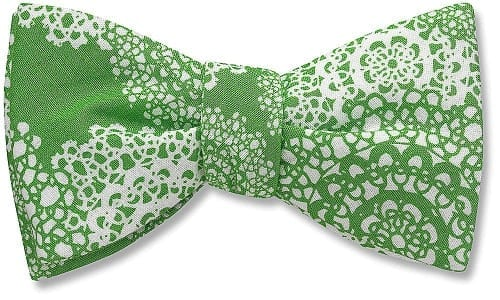 Beau Ties Frosty bow tie $38