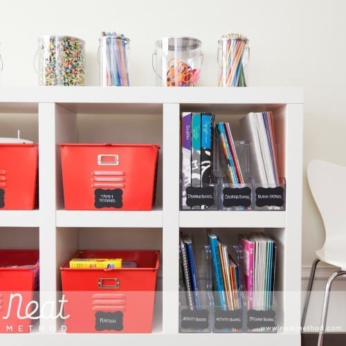 organizing with NEAT method