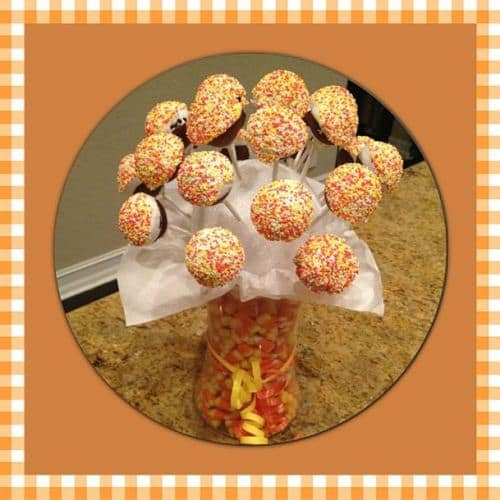 Brandys Bites Cupcake Bouquet new year's eve party essentials