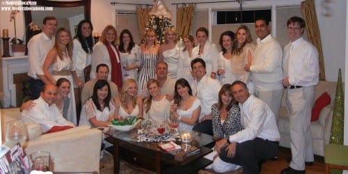 Modern Boca Mom Winter White Party 2011 new year's eve party essentials