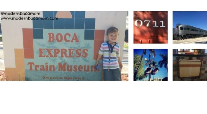 Come Ride the Rails at the Boca Express Train Museum Experience