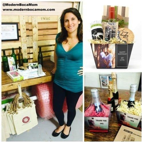 The Wine Box Creations Modern Boca Mom WM