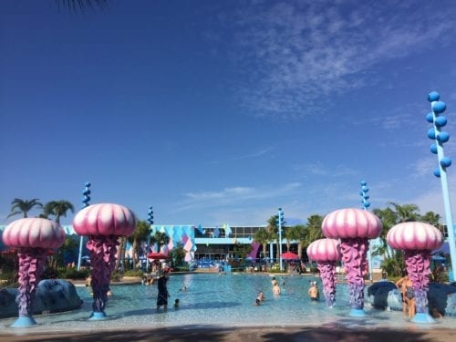 Disney World Resort Pools