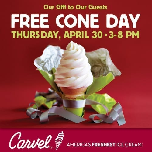 Free Cone Day 2015 Image