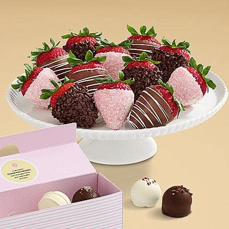 Mother's Day Cake Truffles & Strawberries Boca Mother's Day gift ideas