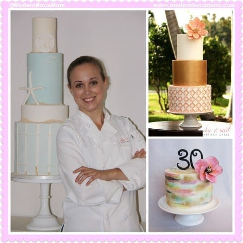 Chic & Sweet Artisan Cakes Modern Boca Mom SM WM
