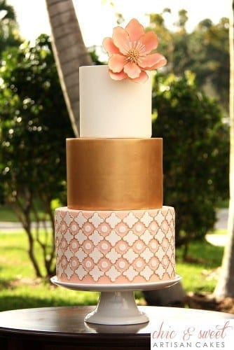 Chic and Sweet Artisan Cakes Boca Raton