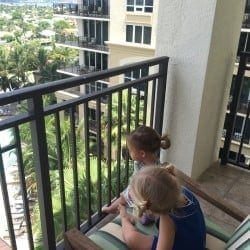 Palm Beach Marriott Singer Island Beach Resort & Spa suite balcony