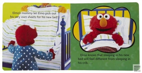 Elmo Big Enough for a Bed Book