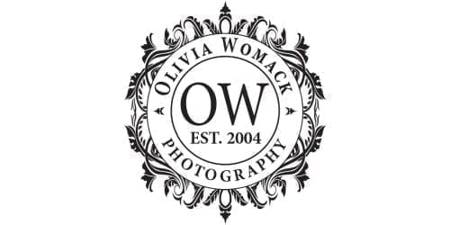 Olivia Womack Photography Modern Boca Mom Logo