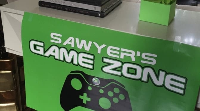 Taking an Xbox-Themed Birthday Party to the Next Level…(Get it?)