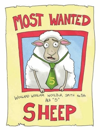 Most Wanted Sheep author