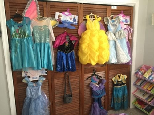 Princess dresses Capoeira for preschoolers
