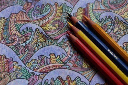 Seven Modern Ways To Banish Stress From Our Daily Lives Colored Pencils