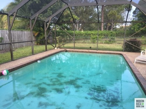 Boca Raton Patio and Pool Makeover