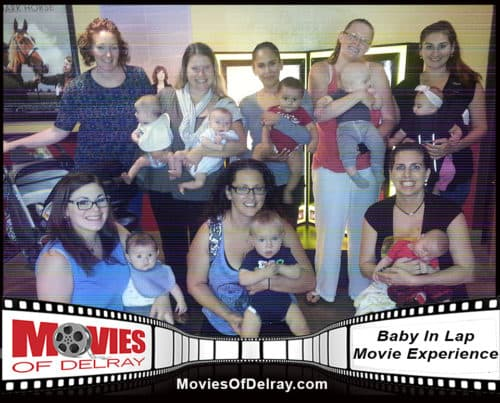 Delray Baby In Lap Movie Experience
