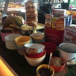 Waterstone Boca breakfast spread