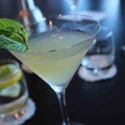 English Garden Martini