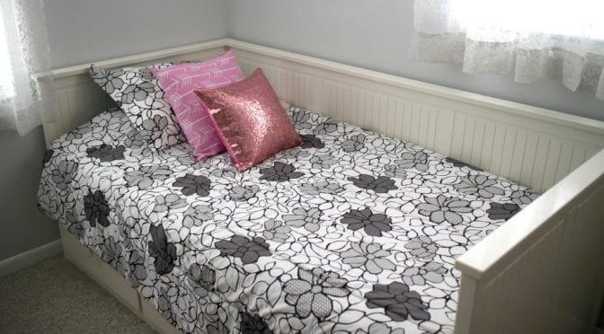 Big Girl Bedroom Makeover in Boca Raton