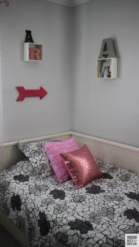 Big Girls Bedroom Makeover in Boca Raton