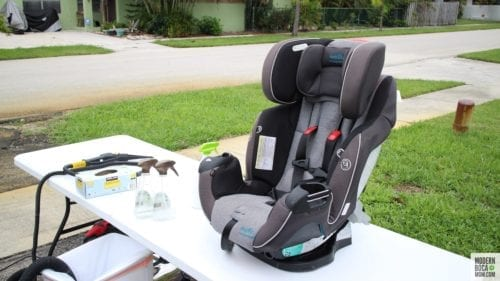 car seat cleaning in Boca Raton
