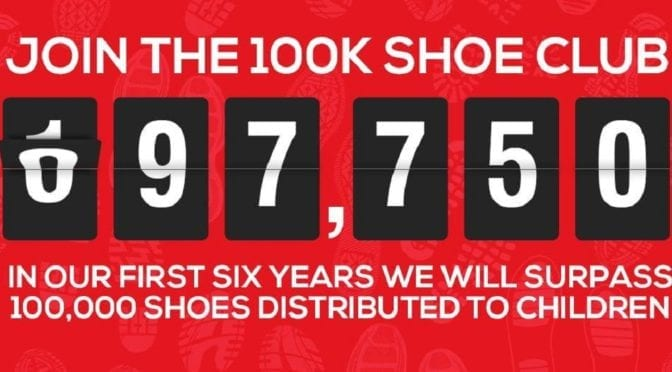 Shuzz has Donated Nearly 100,000 Pairs of Shoes!