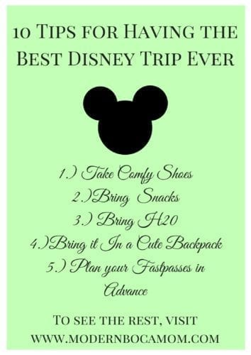 Modern Boca Mom's 'Best Disney Trip Ever' Guide