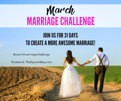 March Marriage Challenge 2017