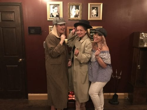 Mystery of Sherlock escape room at Adventure Vault