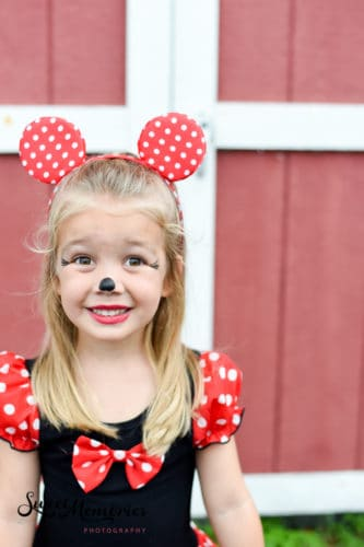 Mickey and Minnie Mouse Halloween Photoshoot