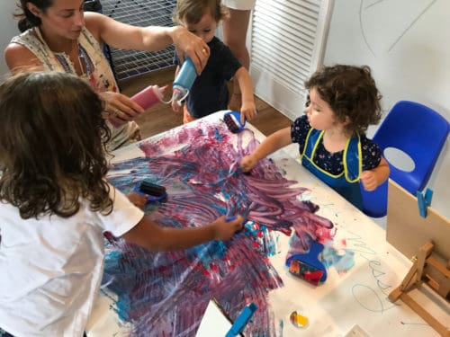 Kids Painting Classes in Delray