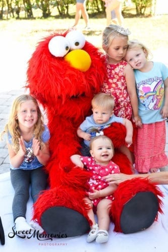 Elmo themed Boca birthday party