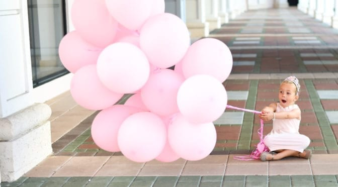 On the Eve of Her 5th Birthday… | Photoshoot in Mizner Park