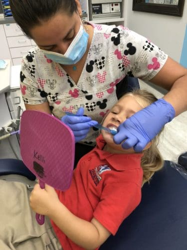 child grinding their teeth Junior Smiles Boca Raton