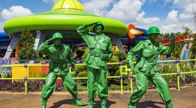 Walt Disney World's Toy Story Land with Woody & Friends is Now OPEN for Play