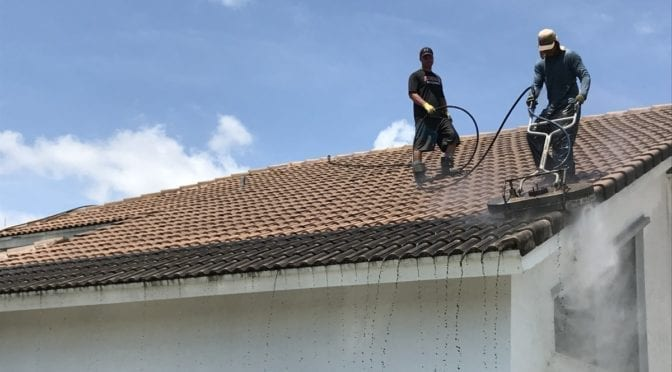 "Your Perfect Boca Raton Roof Cleaning ""Solution"" is Pressure Perfection"