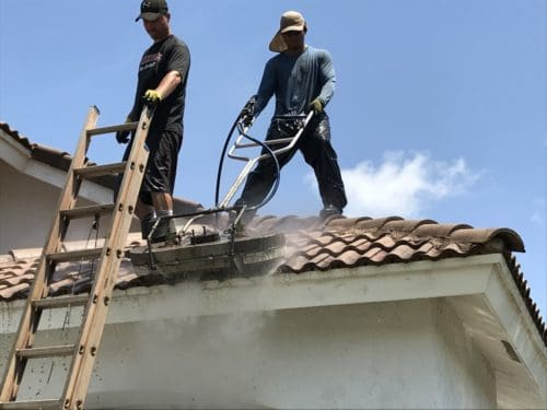 Boca Raton roof cleaning