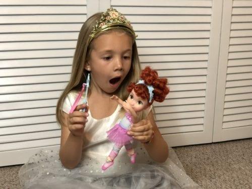 "Disney Junior FANCY NANCY 10/"" BALLERINA DOLL w// WAND NEW"