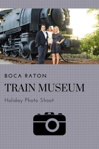 Boca Raton Train Museum Photo Shoot
