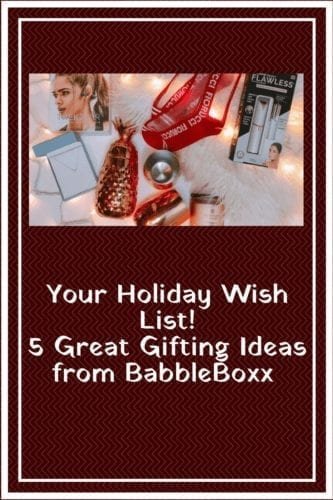 BabbleBoxx Holiday Wish List