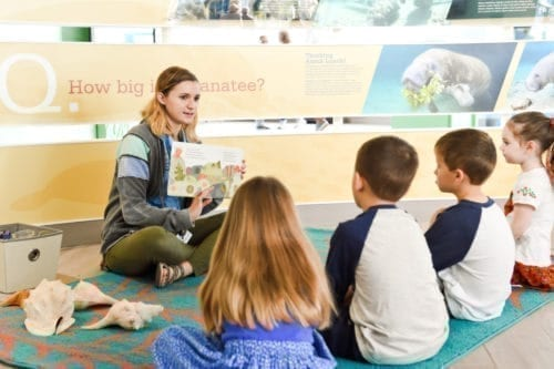 Manatee Tales Story Time