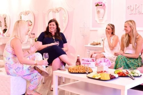 Boca party at Little Princess Spa