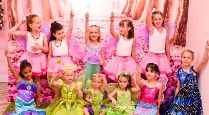 6th Birthday Party at Little Princess Spa Boca Raton
