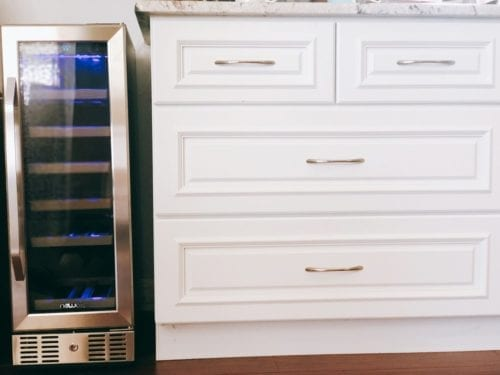 Boca kitchen project | NewAir 19-Bottle Compressor Wine Cooler | AWR-190SB