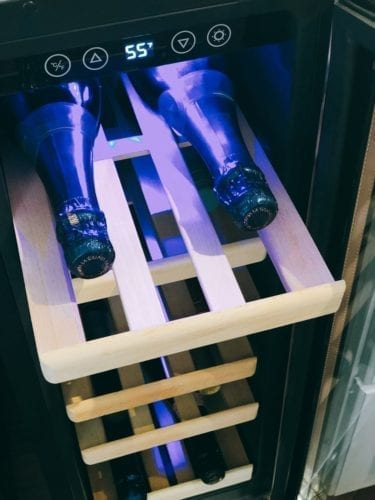 NewAir 19-Bottle Compressor Wine Cooler | AWR-190SB